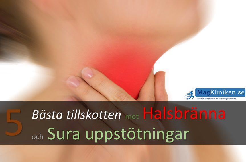 sura uppstötningar ont i bröstet