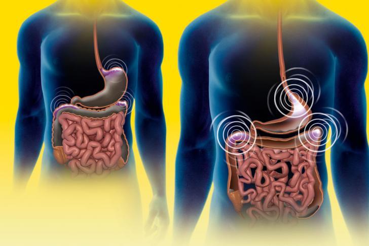 äta när man är lös i magen