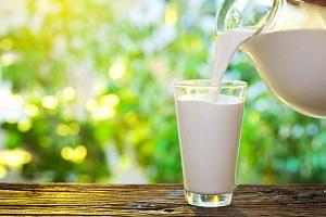 mjölk glas
