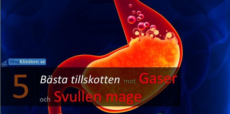 gaser i magen smärta