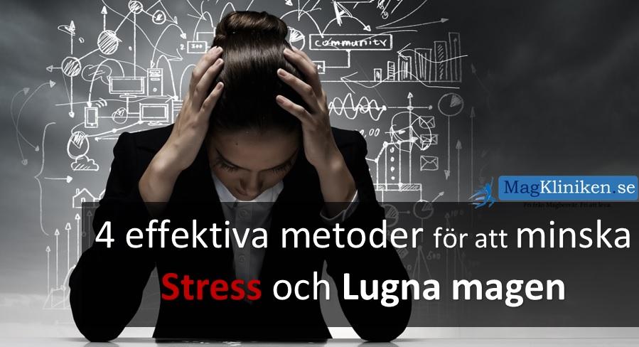 ont i magen pga stress