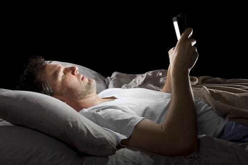 svårt att sova elektronik