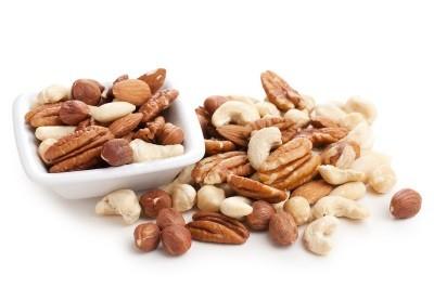 Nötter bra för magen